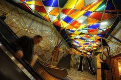 impressive-metro-subway-underground-stations-Olaias Station, Lisbon, Portugal