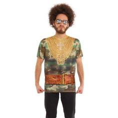 Bad Attitude Men's Short Sleeve Tee Shirt, Multicolor