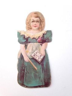 Victorian Trade Card Paper Doll