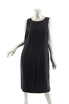Oscar de la Renta short dress Black Sheath on Tradesy