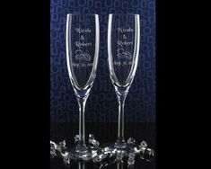 Simple Champagne Glasses - Google Image Result for http://www.maplesprings.com/glass/wedding3.jpg