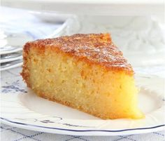 This Tunisian orange cake recipe is a delicious cake recipe full of wonderful citrus flavours of orange and lemon and is taken from Norfolk's Own Cookbook.