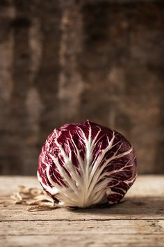 Radicchio is a red variety of chicory and is high in vitamin K
