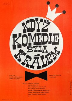 czechoslovakian film poster by maraid, via Flickr