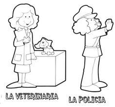 PROFESIONES Y OFICIOS - Seño Mónica - Álbumes web de Picasa
