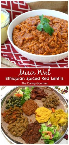 misir wat recipe ethiopian authentic red lentils One of Ethiopia's most popular vegetarian dishes, you'll be blown away by the incredible flavor! Red Lentil Recipes, Vegetarian Recipes, Cooking Recipes, Healthy Recipes, Cooking Tips, Vegetarian Italian, Ethiopian Lentils, Ethiopian Cuisine, Ethiopian Food Recipes