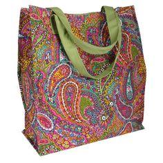 Shopper Tote Bag in Paisley.