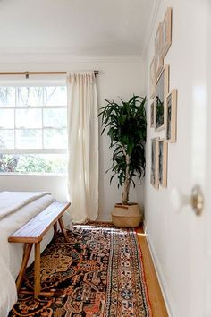 Big Changes - How To Create A Tiny Nursery In A Master Bedroom - Photos