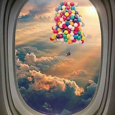 Above the clouds 😃 - Tag someone who'd travel the world with you 🌍✈ 📷 Airplane Window, Airplane View, Dream Photography, Travel Photography, Amazing Photography, Above The Clouds, Insta Photo, Photo Manipulation, Amazing Nature