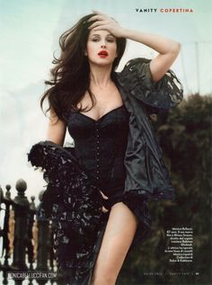 Inside Vanity Fair Italy May 2012; Monica Bellucci