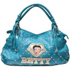 betty boop purse in timeless' Garage Sale in chicago , IL for . betty boop shoulder purse with 3 pockets on the inside ...I have 3 colors:blue,tan fusha and white