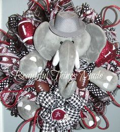 Hey, I found this really awesome Etsy listing at https://www.etsy.com/listing/472172245/alabama-football-wreath-bama-decor-bama