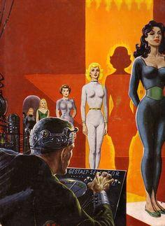 Utopia Magazin 14  Cover: Ed Emshwiller (Rastatt/Deutschland; 1959)