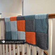 Textured Baby Toddler Blanket Crochet Pattern PDF by acrazysheep Cotton Texture, Toddler Blanket, Different Textures, Crochet Blanket Patterns, Textures Patterns, Babe, Crochet Hats, Crocheting, Etsy