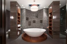 The most beautiful master bathroom ever ... in West Vancouver #blurrdMEDIA #architecture #photography