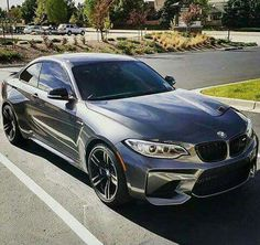 BMW F87 M2 grey widebody