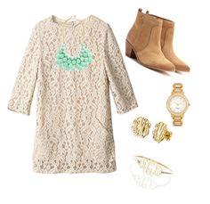 Church by prepallday on Polyvore featuring polyvore, fashion, style, Tory Burch and Kate Spade