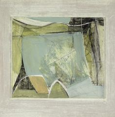 Wilhelmina Barns-Graham Winter Landscape 1952 oil and pencil on board, x cm. Contemporary Landscape, Abstract Landscape, Landscape Paintings, Abstract Art, Abstract Pattern, Winter Landscape, Beautiful Paintings, New Art, Layout