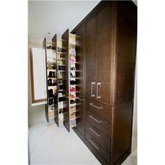 Shoe Storage...love the concept.