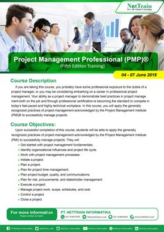 You are taking this course, you probably have some professional exposure to the duties of a  project manager, or you may be considering embarking on a career in professional project management.  #InfoNetTrain #Training #Project #Management #Proffesioonal #Ecposure #Duties #Career