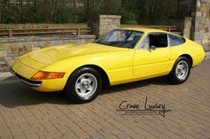 Ferrari Daytona, one of the most beautiful cars ever made.