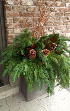 .Holiday planter
