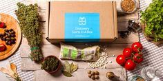 The Mediterranean & Greek food box, delivered monthly to your door step.