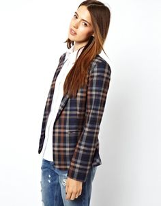 ASOS Blazer in Check