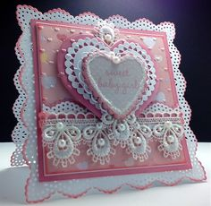 French Baby Girl, IC353, F4A133 by Cards_By_America - Cards and Paper Crafts at Splitcoaststampers