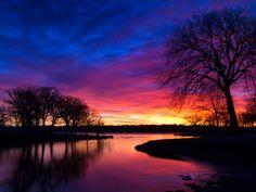 Fall asleep to sunset wake up for sunrise