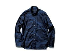 SOPHNET. | PRODUCT | CAMOUFLAGE LOAN B.D SHIRT (SCORPION EMBROIDERY)