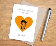 Orange Is The New Black Card // Crazy Eyes // van karenwalk op Etsy