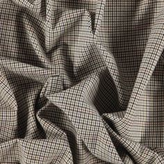 Vevet GF rutet med stretch natur/lurex - STOFF & STIL Buy Cheap, Weaving, Fabrics, Stuff To Buy, Tejidos, Loom Weaving, Crocheting, Cloths, Knitting