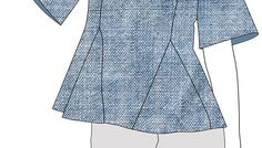 Paso a paso Indie, Peplum, Sewing, Blouse, Tops, Women, Fashion, Step By Step, Dressmaking