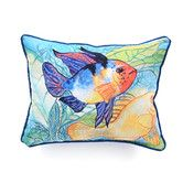 Found it at Wayfair - Coastal Two Fish Indoor/Outdoor Lumbar Pillow