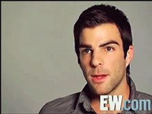 Zachary quinto He goes from regular to serial killer in .5 seconds