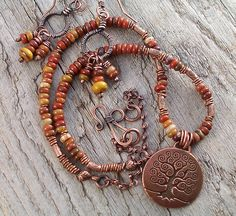 ruchi's wooden agate and copper 012 by Lune2009, via Flickr