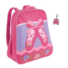 Stephen Joseph Girls Ballet Shoes Backpack with Zipper Pull *** Want additional info? Click on the image.
