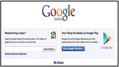 Teachers' Guide to Google Books ~ Educational Technology and Mobile Learning