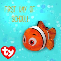 Happy First Day of School from Nemo!