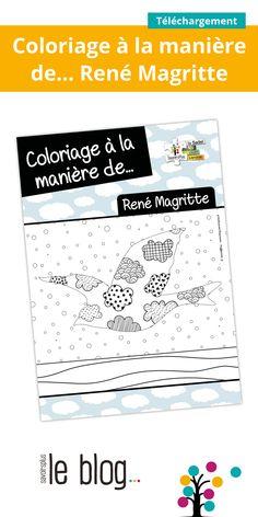 Magritte, Ecole Art, Oeuvre D'art, Zentangle, Classroom, Culture, Education, School, Books