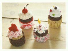 Crochet Cupcake Pattern ( Cake Pattern )