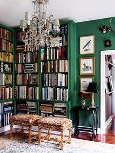 Shades of Green /// Interior Design Inspiration