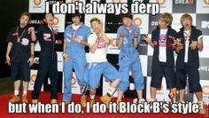 Do it the Block B's style!^^