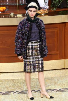 Chanel - Collection automne 2015 #mode #fashion