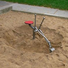 Funny pictures about Awesome Sand Box Toy. Oh, and cool pics about Awesome Sand Box Toy. Also, Awesome Sand Box Toy photos. Metal Projects, Welding Projects, Sand Pit, My Childhood Memories, Toy Boxes, The Good Old Days, Play Houses, Kids Playing, Metal Working