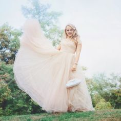 This romantic fairy tale bridal shoot will have you dancing with joy!