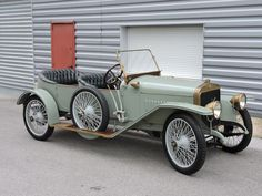 1913 HISPANO-SUIZA ALFONSO XIII TORPEDO TOURING CAR (Chassis No: 2001 Engine no: 2174.)