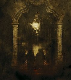 Travis Smith | The Grand Conjuration. Opeth: Ghost Reveries CD Interior