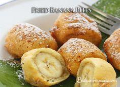Fried Banana Bites – Food Recipes